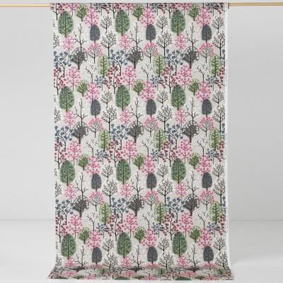 Spira Haga Sage Green & Grey Swedish Fabric