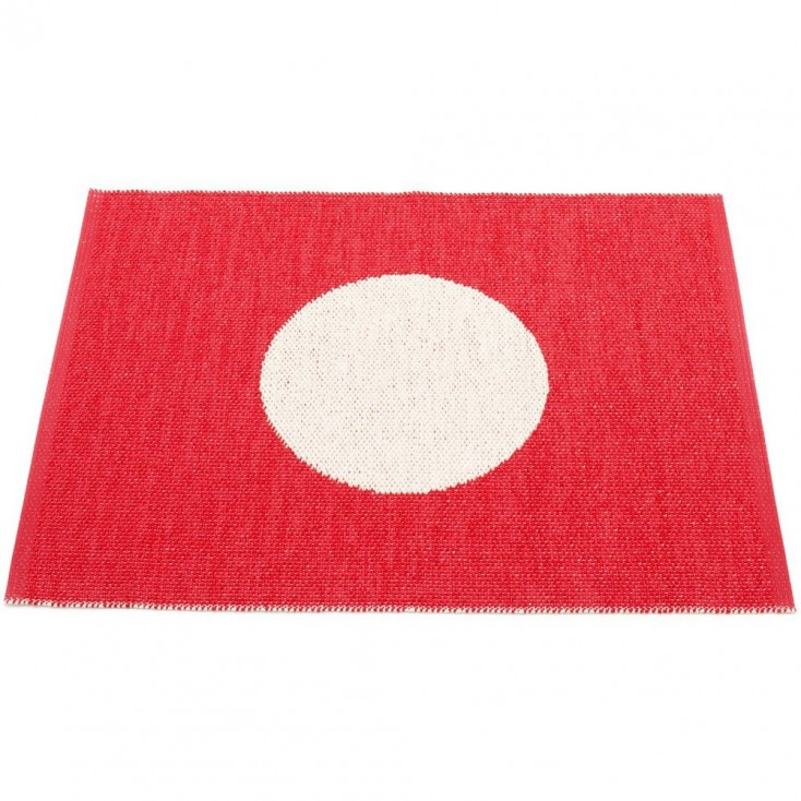 Pappelina Vera Small One Red Mat