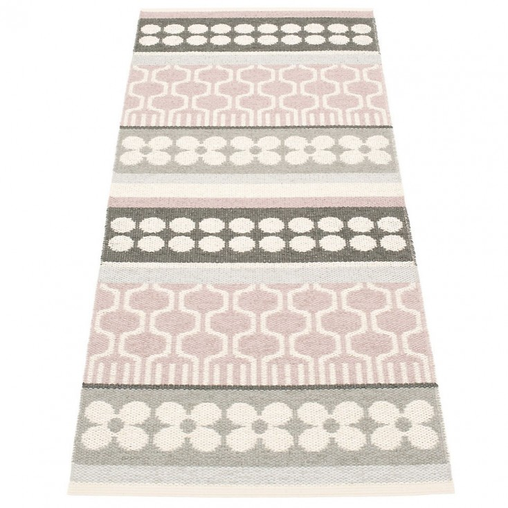 Pappelina Asta Pale Rose Runner - 70 x 180 cm