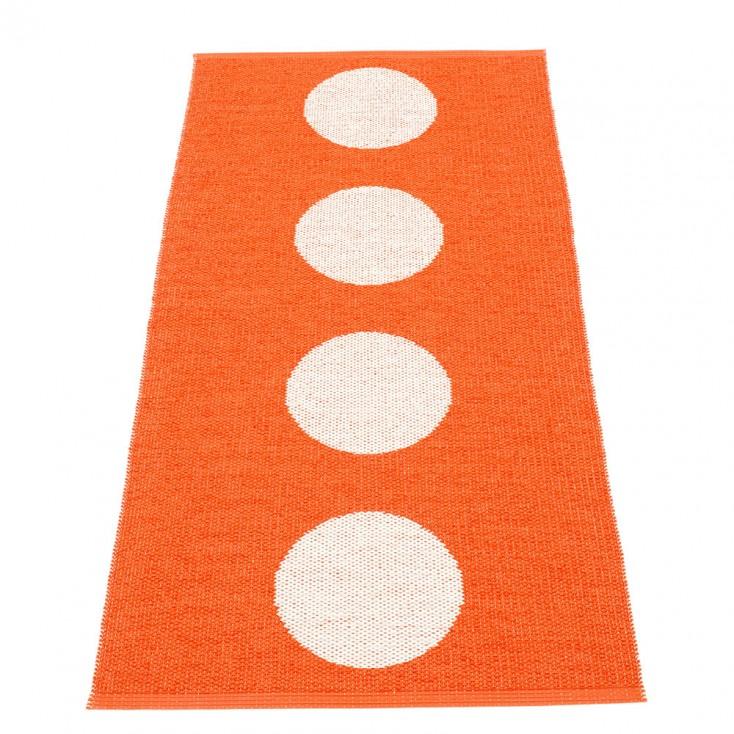 Pappelina Vera Orange & Vanilla Runner - 70 x 150 cm