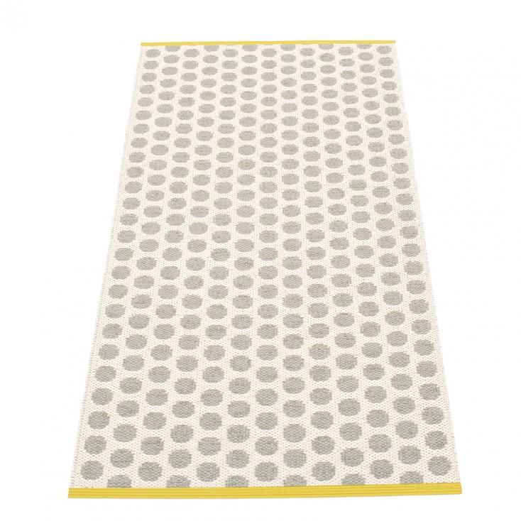 Pappelina Noa Warm Grey & Vanilla Runner - 70 x 150 cm