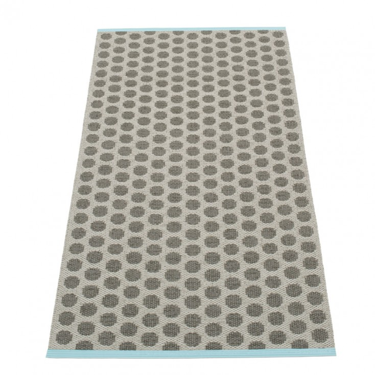 Pappelina Noa Charcoal & Warm Grey Runner - 70 x 150 cm