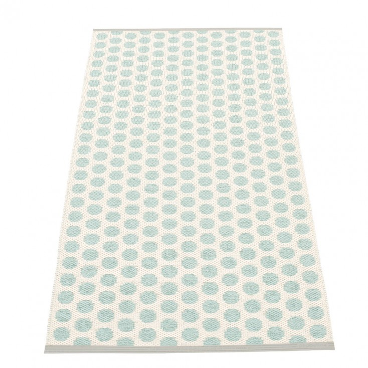 Pappelina Noa Pale Turquoise & Vanilla Runner - 70 x 150 cm