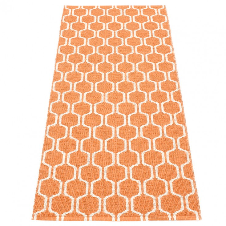 Pappelina Ants Pale Orange & Vanilla Runner - 70 x 180 cm