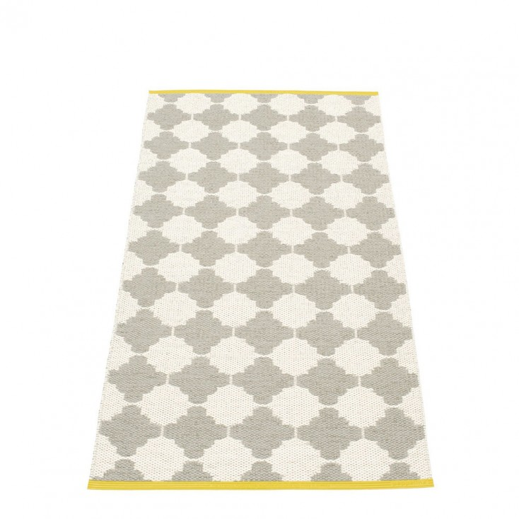 Pappelina Marre Warm Grey & Vanilla Runner - 70 x 150 cm