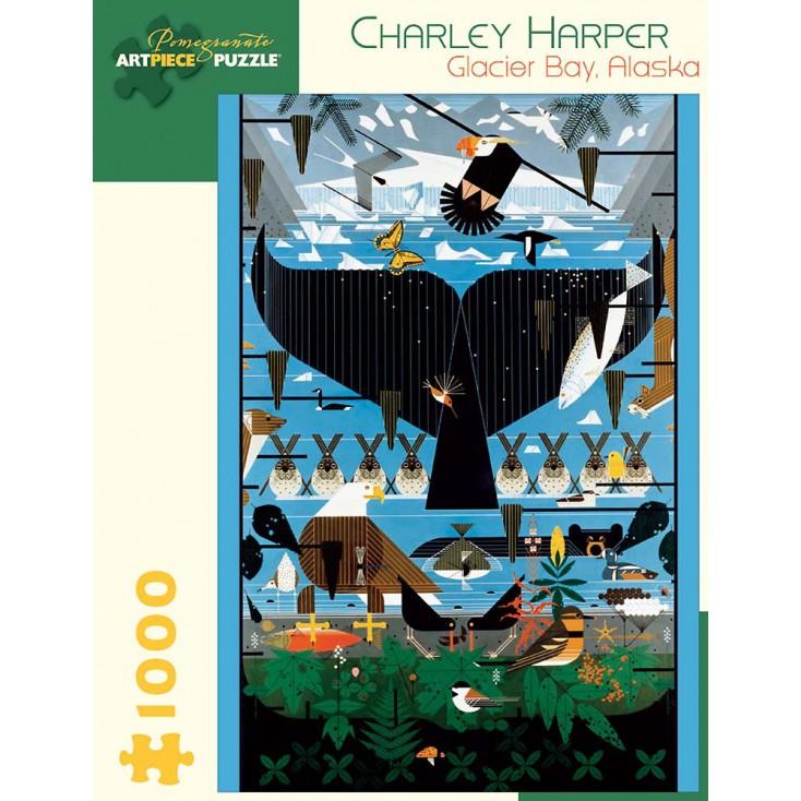 Pomegranate Charley Harper Glacier Bay 1000 Piece Jigsaw Puzzle