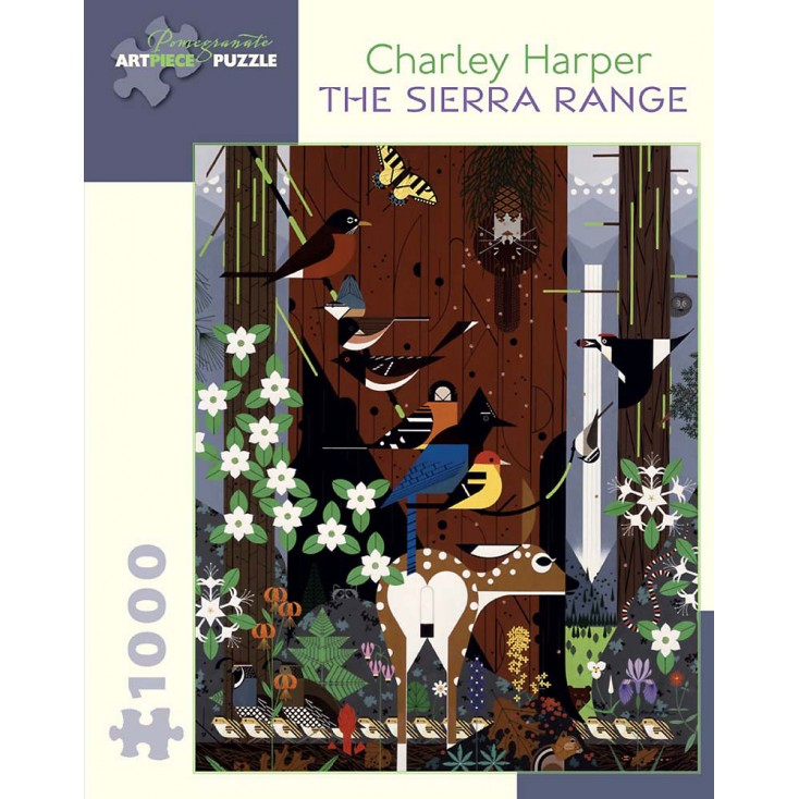 Charley Harper The Sierra Range Jigsaw
