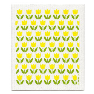 Jangneus Mini Yellow Tulip Dishcloth