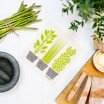 Jangneus Cellulose Dishcloth - Green Herbs