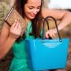 Hinza Small Turquoise Bag