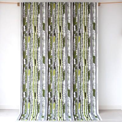 Almedahls Kungsbjörk Green Swedish Fabric