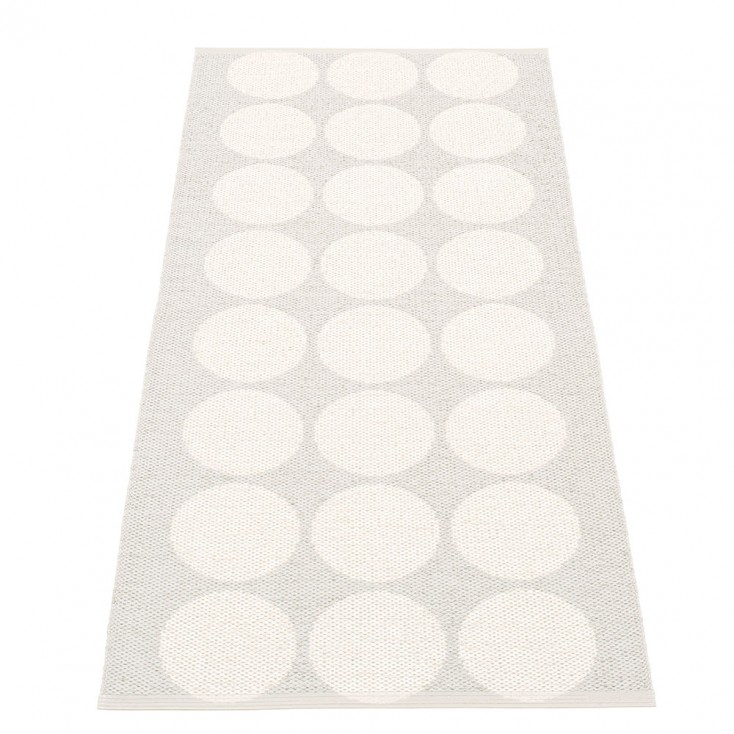 Pappelina Hugo Fossil Grey Metallic Runner - 70 x 160 cm