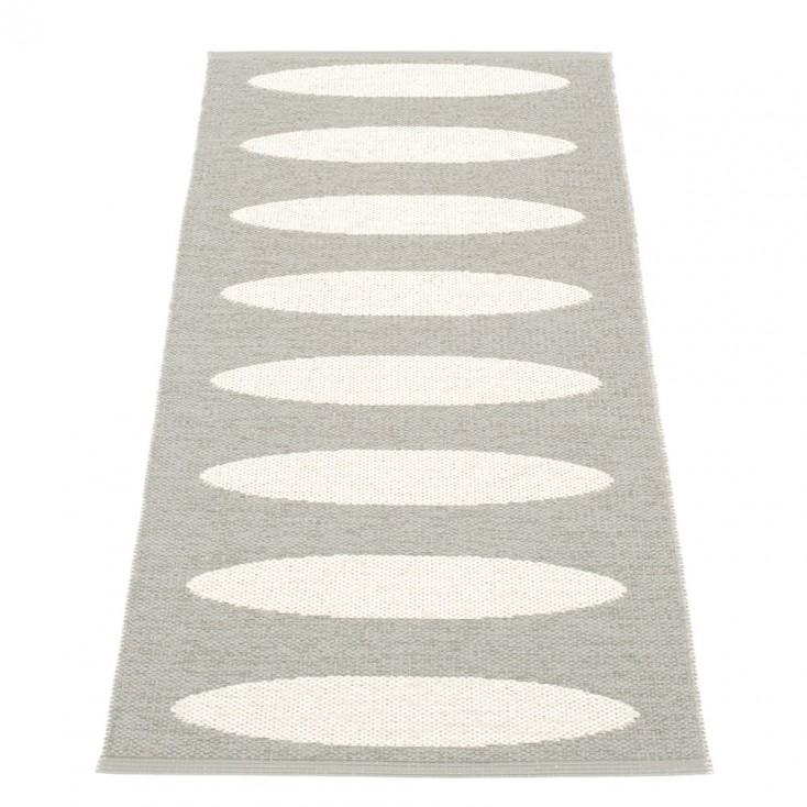 Pappelina Ella Warm Grey & Vanilla Runner - 70 x 150 cm