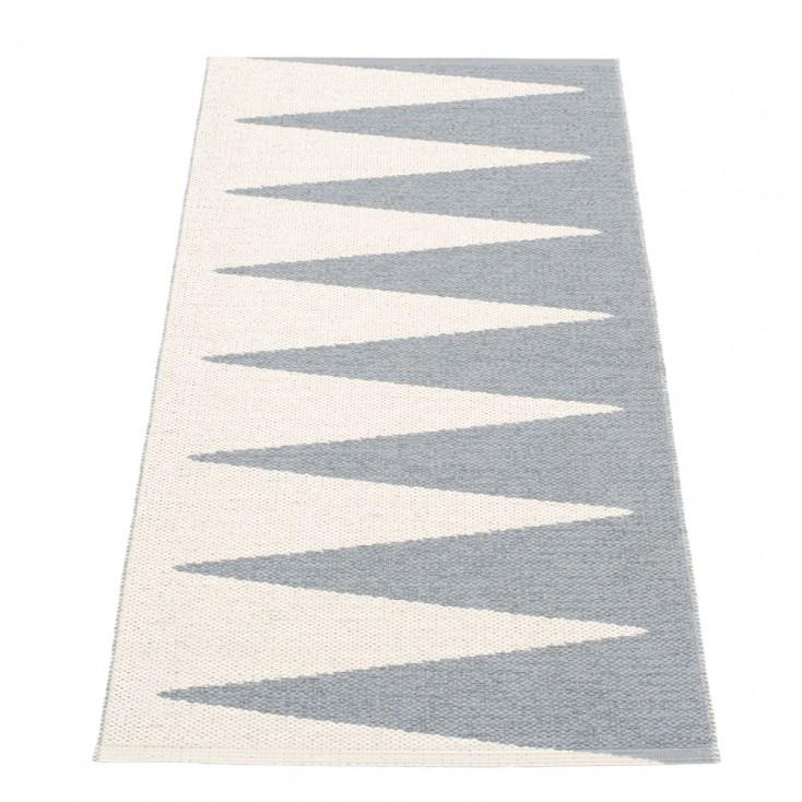 Pappelina Vivi Grey & Vanilla Runner - 70 x 150 cm
