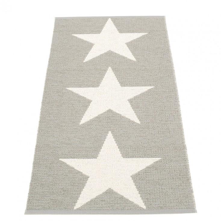 Pappelina Viggo Star Stone Metallic Runner - 70 x 150 cm