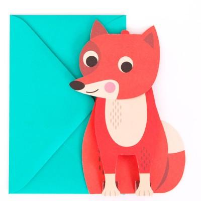 Ingela Arrhenius Fox Greeting Card