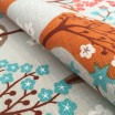 Spira Haga Turquoise Swedish Fabric