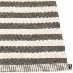 Pappelina Duo Charcoal & Vanilla Rug Edge Detail