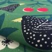 Scandinavian Fabric - Almedahls Körsbärsträdgården Green