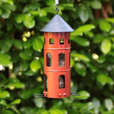 Red Swedish Combi Bird Feeder