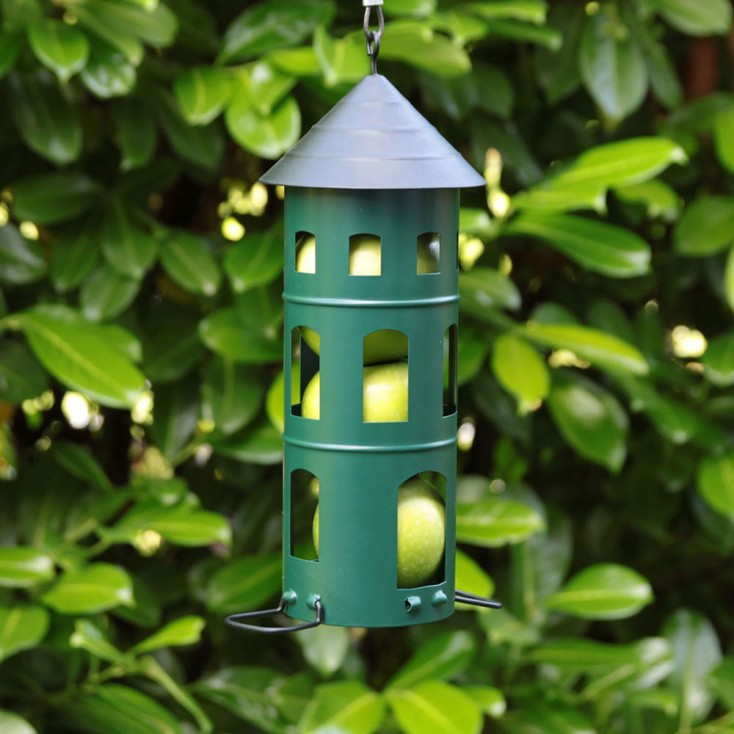 Green Swedish Combi Bird Feeder