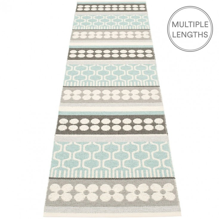 Pappelina Asta Pale Turquoise Runner - 70 x 270 cm