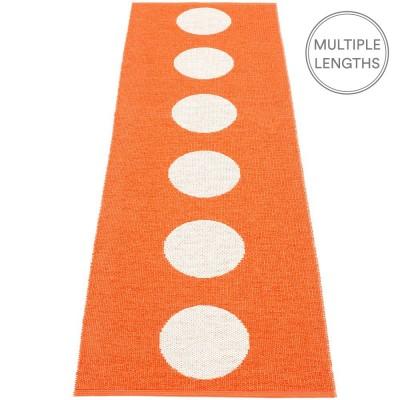 Pappelina Vera Orange & Vanilla Runner - 70 x 225 cm