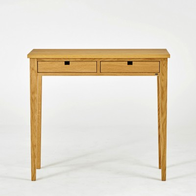 Gad Ala Two Drawer Oak Console Table