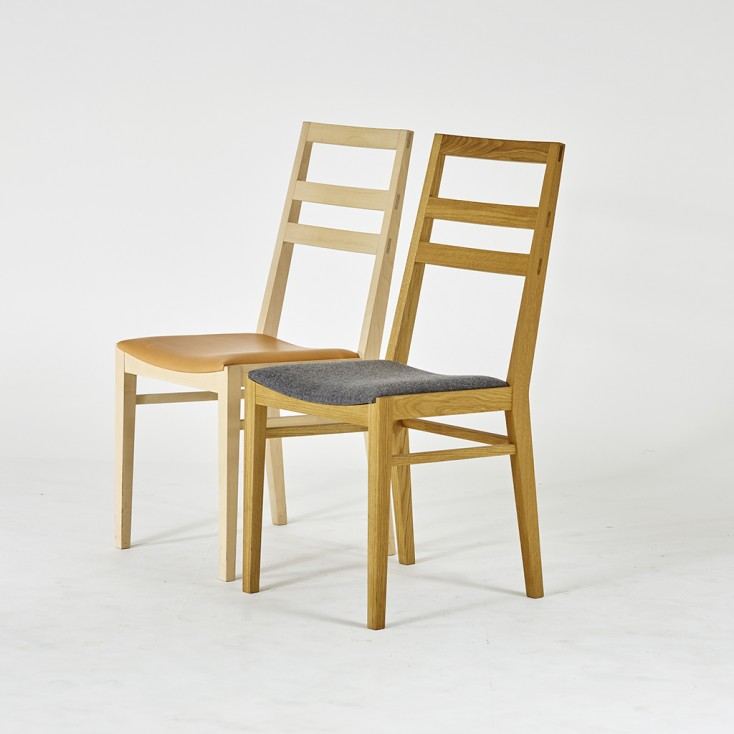 Gad Lansa Chair - Oak - Wool Seat
