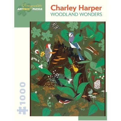 Charley Harper Woodland Wonders Jigsaw