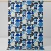 Spira Anita Blue Scandinavian Fabric - Full 150 cm Width