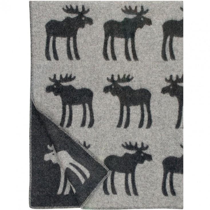 Lapuan Kankurit Hirvi Blanket - Black