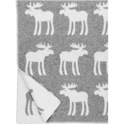 Lapuan Kankurit Hirvi Grey Blanket
