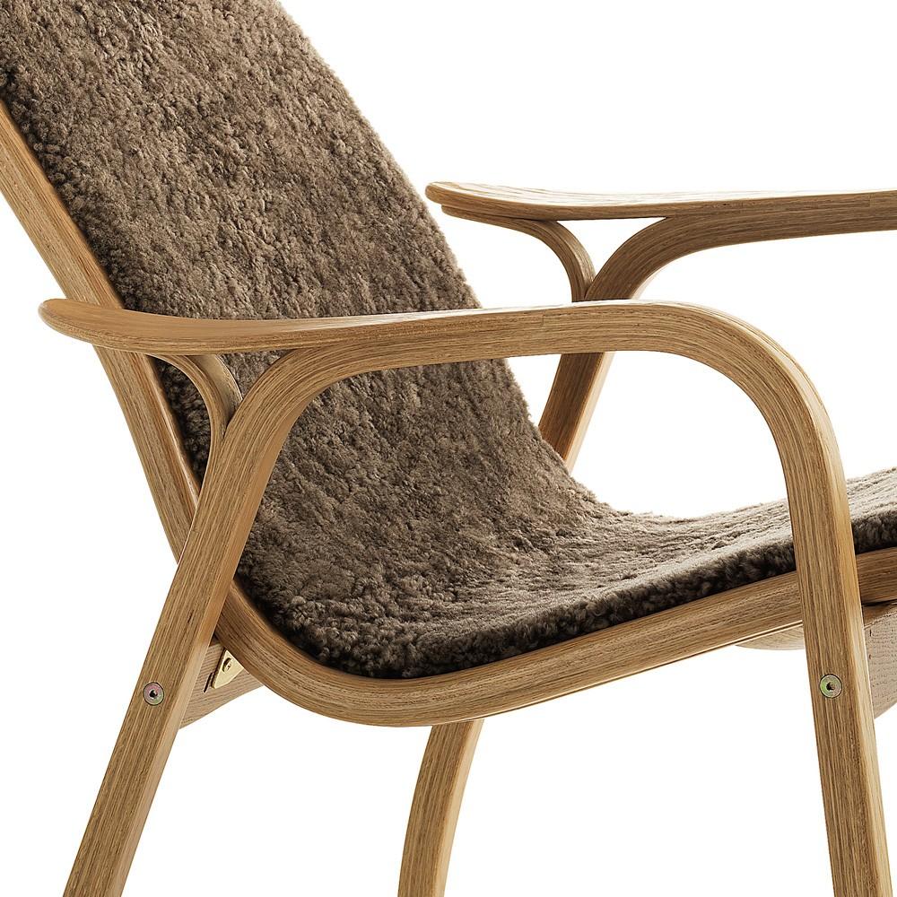 ... Swedese Sahara Sheepskin Lamino Chair ...
