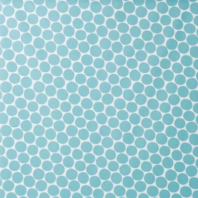 Spira Pom Pom Light Blue Fabric