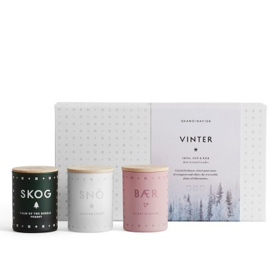 Skandinavisk Vinter Mini Scented Trio