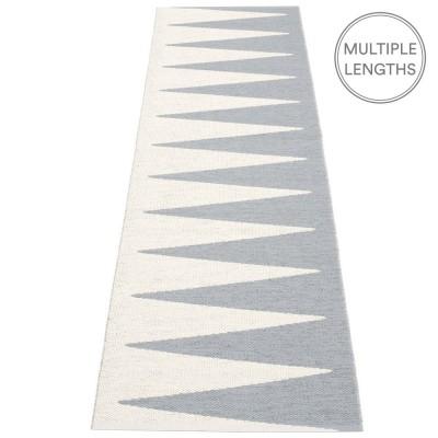 Pappelina Vivi Grey & Vanilla Runner - 70 x 250 cm