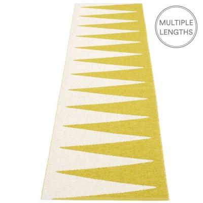Pappelina Vivi Mustard & Vanilla Runner - 70 x 150 cm