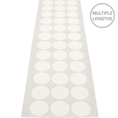 Pappelina Hugo Fossil Grey Metallic Runner - 70 x 240 cm