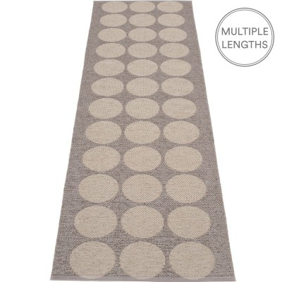 Pappelina Hugo Mud Metallic Runner - 70 x 240 cm