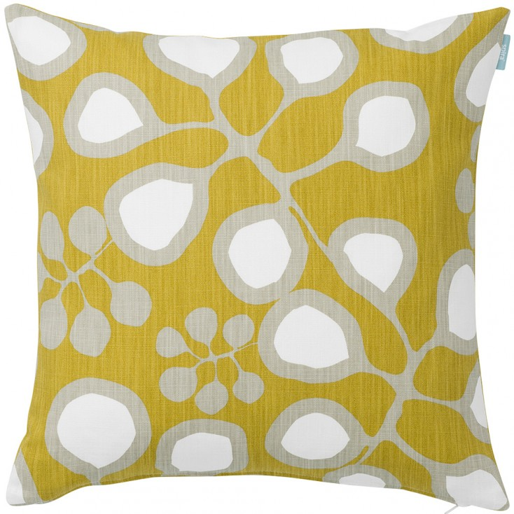 Spira Sedum Mustard Cushion