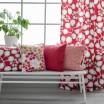 Spira Sedum Raspberry Fabric & Cushion