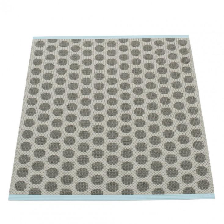 Pappelina Noa Charcoal & Warm Grey Mat - 70 x 90 cm