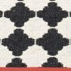 Pappelina Marre Black & Vanilla Mat - Detail