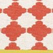 Pappelina Marre Coral & Vanilla Mat - Detail