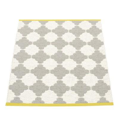 Pappelina Marre Warm Grey & Vanilla Mat - 70 x 90 cm