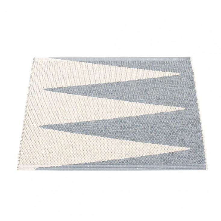 Pappelina Vivi Grey & Vanilla Mat - 70 x 60 cm