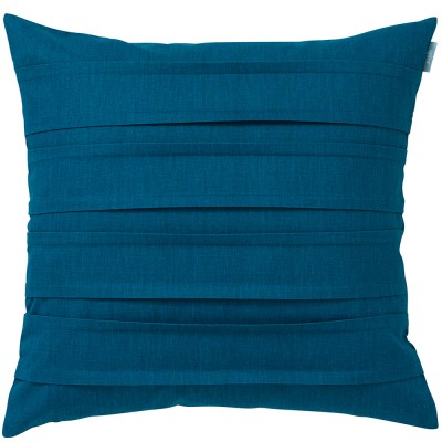 Spira Double Pleat Petrol Cushion