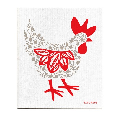 Jangneus Grey Hen Dishcloth