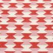 Pappelina Dana Coral Red & Piglet Mat - Reverse Detail